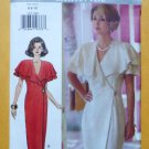 UNCUT Butterick Pattern 3473 - Beau David Wrap Dress Misses Size 6-8-10