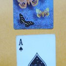 Vintage Playing Card Butterflies by Stardust Single Swap Trade