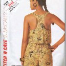 McCalls Pattern 3112 Misses Summer Top and Shorts Szs 6 8 10
