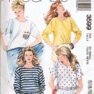 Easy McCalls Pattern 3599 - Uncut - Misses Sz 6-8 Tops