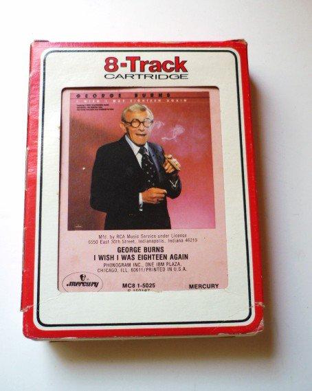 George Burns: I Wish I Was Eighteen Again 1980 8Track Tape mc8 15025