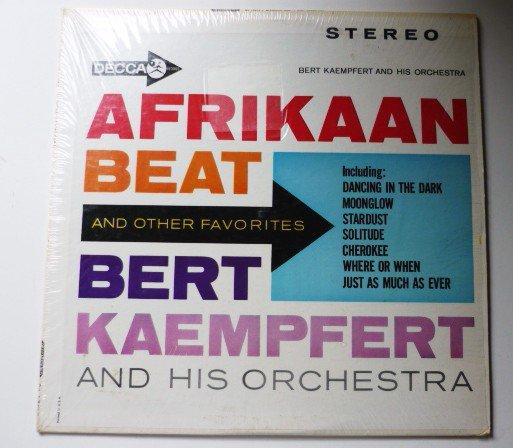 Afrikaan Beat and Other Favorites lp Bert Kaempfert dl74273