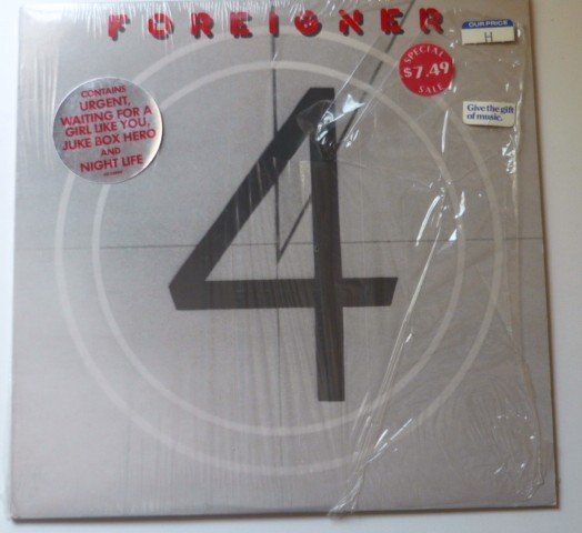 Foreigner 4 sd16999 lp