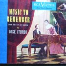 Music to Remember From the Life of Chopin - Jose Iturbi - Two 78s