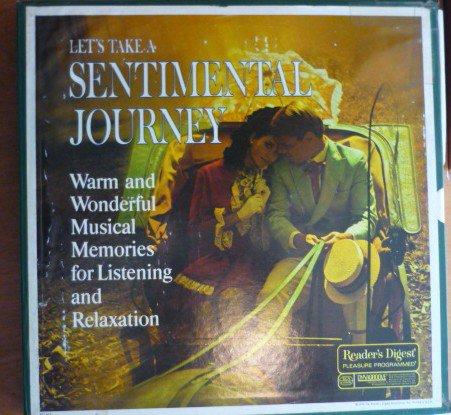 Lets Take a Sentimental Journey Readers Digest Set of 9 lps