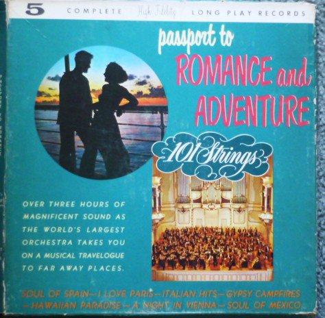 Passport To Romance And Adventure 5 lp Record Album Set M105