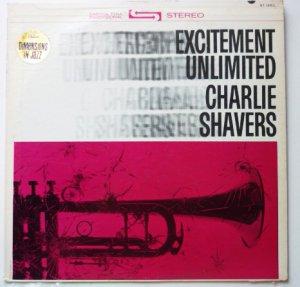 Excitement Unlimited lp - Charlie Shavers st1883