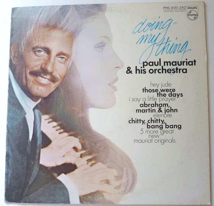 Doing My Thing lp - Paul Mauriat and his Orchestra phs 600-292