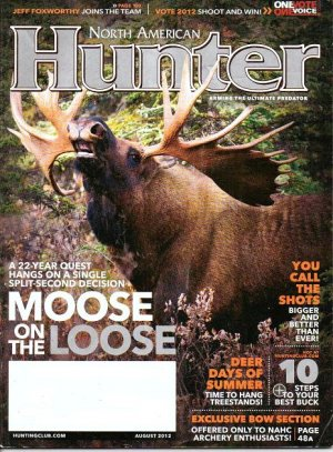 North American Hunter Magazine - Unread - August 2012 Bow Hunting+