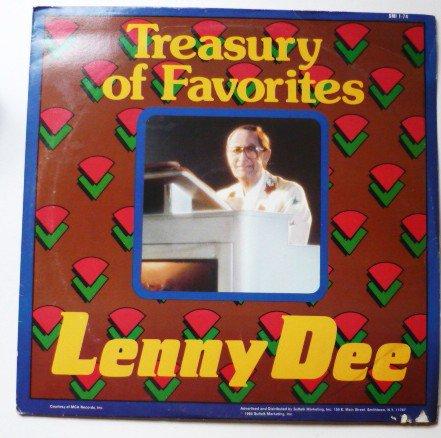 Treasury of Favorites lp - Lenny Dee smi 1-74