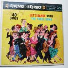 Lets Dance with the Three Suns lp lsp1578