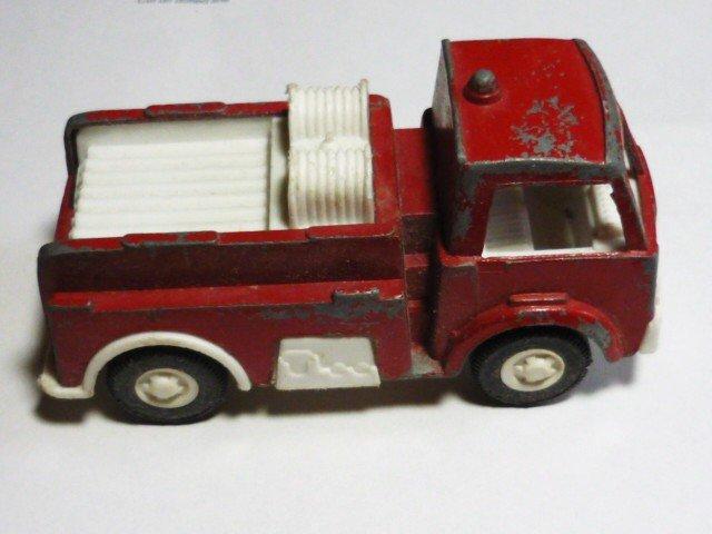 Tootsie Toy Metal Fire Truck 1970s Vintage