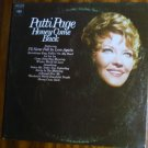 Honey Come Back lp - Patti Page cs 9999