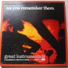 As You Remember Them Volume 2 - Three Record Set Time Life STL-242