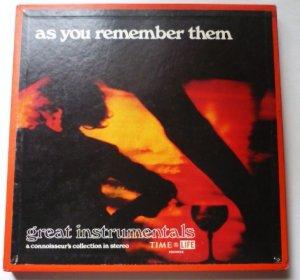 As You Remember Them Volume 2 - Three Record Set Time Life STL-242