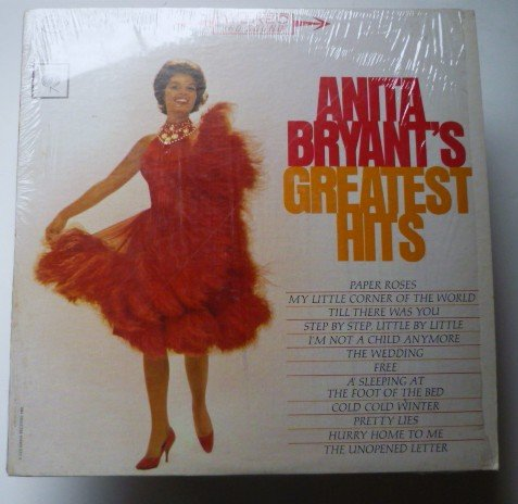 Anita Bryants Greatest Hits lp cs 8756