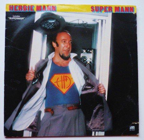 Super Mann lp - Herbie Mann sd19221