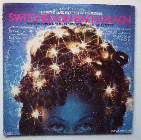 Switched-On Bacharach lp - Christopher Scott dl75141