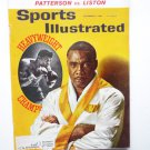 Sports Illustrated September 17 1962 Patterson Vs Liston