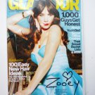 Glamour Magazine February 2013 Zooey Deschanel Cover