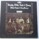 Deja Vu lp by Crosby Stills Nash and Young - Gatefold sd 7200 Pasted on Front Label