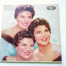 Chris Phyllis Dottie: The McGuire Sisters lp crl 57052