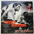 Chet Baker and Strings 1950s lp CL 549
