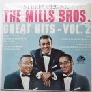 The Mills Bros Great Hits lp Vol 2 dlp25308