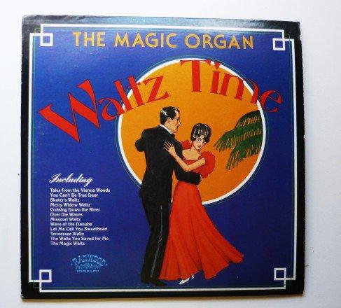 The Magic Organ Waltz Time lp Various r-8137