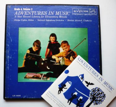 Adventures in Music lp and Teachers Guide Grade 4 Volume 2 LE 1005