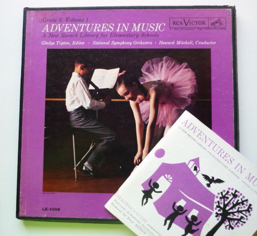 Adventures in Music lp and Teachers Guide Grade 5 Volume 1 LE 1006