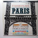 Passionate Paris in Ping Pong Percussion lp - Santiago cxs142