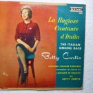 Betty Curtis La Ragiose Cantante DItalia lp 2006 Rare Album