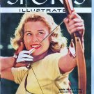 August 8 1955 Sports Illustrated Magazine Ann Marston on Cover VGC