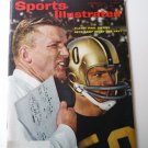 Sports Illustrated November 26 1962 Paul Dietzel on Cover
