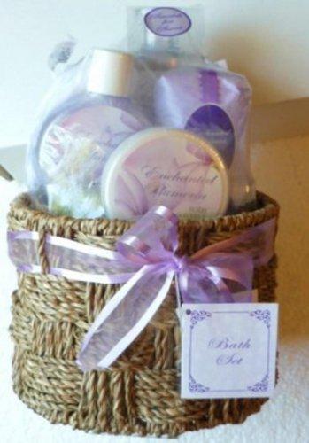 Enchanted Plumeria 6 Piece Bath Set Sealed - Brand New!