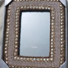 NIB India Beaded Picture Frame - Pier One Imports 4x6 Inch