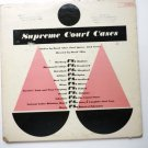 Supreme Court Cases Two lp Set le7630 / 35