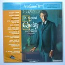 A Record of Quality lp - Your Sanitone Drycleaner Vol II xtv88659