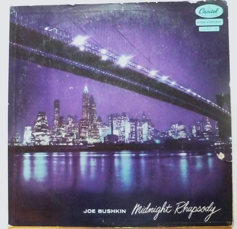 Joe Bushkin lp Midnight Rhapsody jlzc3