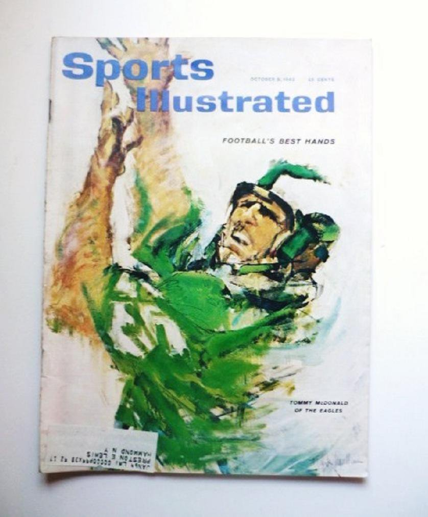 Sports Illustrated October 8 1962 Willie Mays Sonny Liston