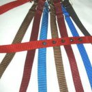 Marked England 24 inch Dog Collar - Your Color Choice Brand New - Top Quality - Woven Nylon