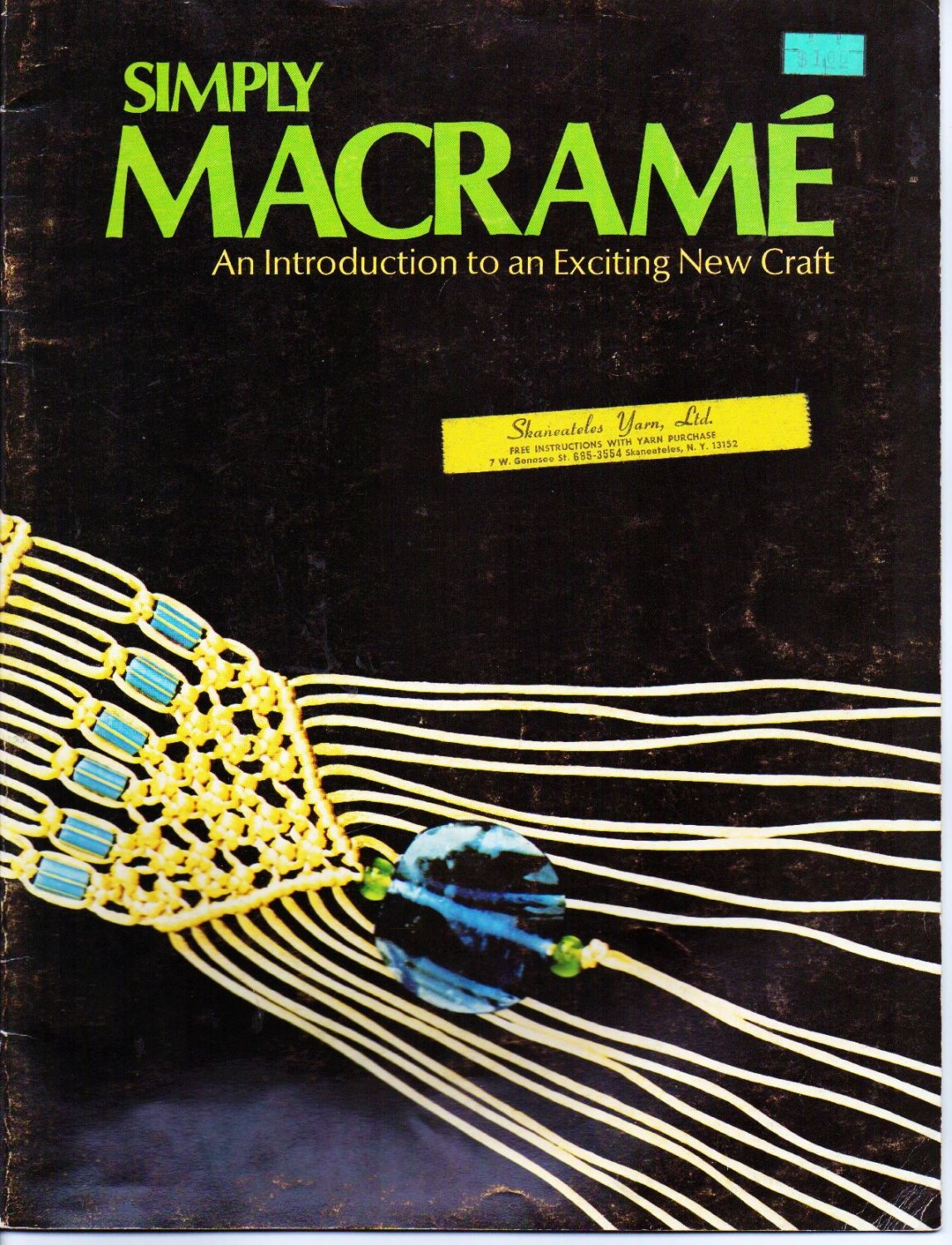 Simply Macrame An Introduction - Singleton and Weber