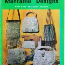 12 Belt and Bag Macrame Designs - Hazel Pearson Williams