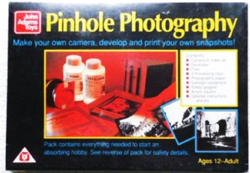 Pinhole Photography Kit by John Adams Toys New In Box