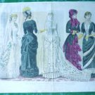 Les Modes Parisiennes Petersons Magazine - The Two Brides dated October 1882