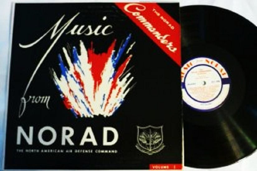 Music From Norad lp The Norad Commanders 1960s Rare Vol 1