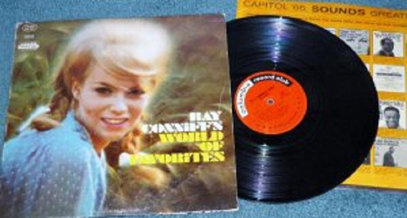 Ray Conniffs World of Favorites Columbia lp Club Stereo DS 267 One Owner