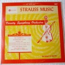 Strauss Music Varsity Symphony Orchestra 2027 Rare lp