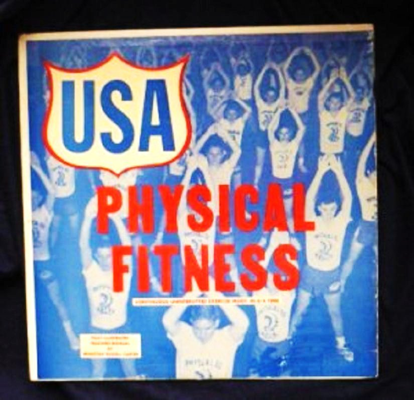 USA Records Nations Physical Fitness lp Vol 2 No. 2020